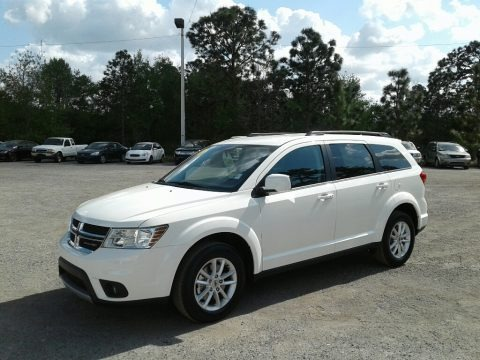 Vice White 2018 Dodge Journey SXT