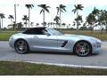 Mercedes-Benz SLS AMG Roadster Iridium Silver Metallic photo #4