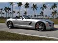 Mercedes-Benz SLS AMG Roadster Iridium Silver Metallic photo #11