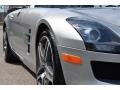 Mercedes-Benz SLS AMG Roadster Iridium Silver Metallic photo #24
