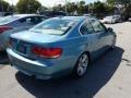 BMW 3 Series 335i Coupe Atlantic Blue Metallic photo #3