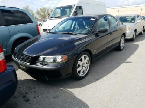 Black 2004 Volvo S60 2.5T AWD