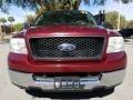 Ford F150 XLT SuperCab Dark Toreador Red Metallic photo #8