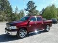 Ram 1500 Laramie Crew Cab Delmonico Red Pearl photo #1
