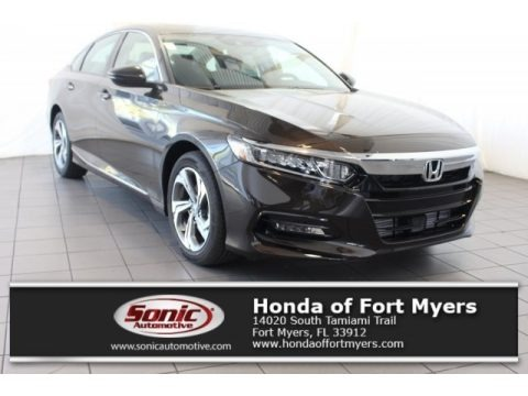 Kona Coffee Metallic 2018 Honda Accord EX-L Sedan