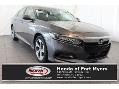 Modern Steel Metallic 2018 Honda Accord EX-L Sedan