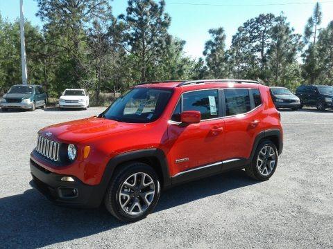 Colorado Red 2018 Jeep Renegade Latitude