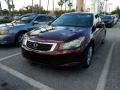 Honda Accord EX-L Sedan Basque Red Pearl photo #1