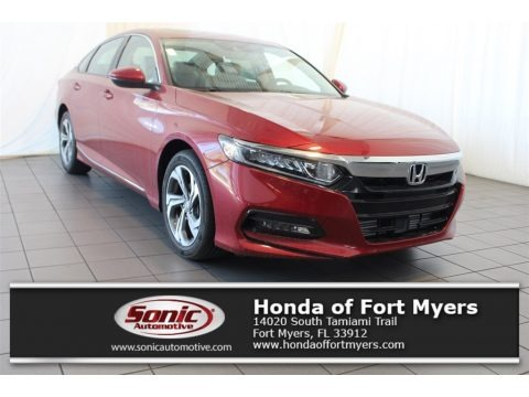 Radiant Red Metallic 2018 Honda Accord EX-L Sedan