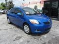 Toyota Yaris Sedan Blue Streak Metallic photo #3