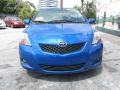 Toyota Yaris Sedan Blue Streak Metallic photo #4