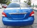Toyota Yaris Sedan Blue Streak Metallic photo #7