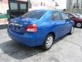 Toyota Yaris Sedan Blue Streak Metallic photo #8