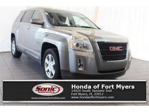 Steel Gray Metallic 2012 GMC Terrain SLE