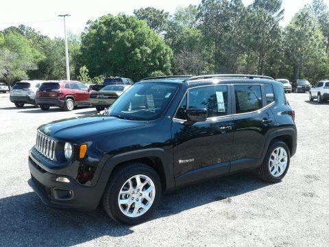 Black 2018 Jeep Renegade Latitude