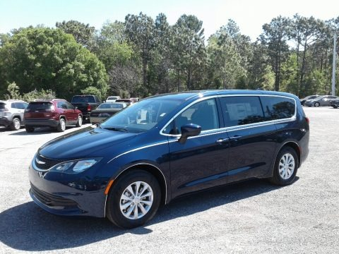 Jazz Blue Pearl 2018 Chrysler Pacifica LX