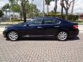 Lexus LS 460 Black Sapphire Blue Pearl photo #3