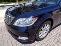 Lexus LS 460 Black Sapphire Blue Pearl photo #21