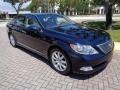 Lexus LS 460 Black Sapphire Blue Pearl photo #41