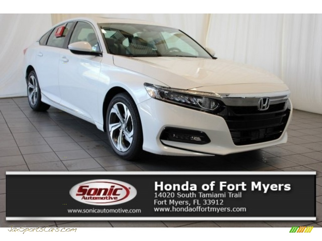 2018 Accord EX Sedan - White Orchid Pearl / Ivory photo #1