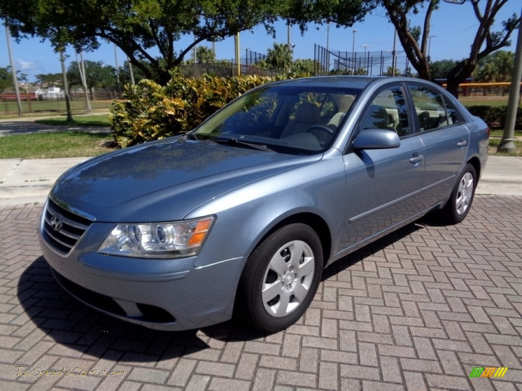 2009 Sonata GLS - Medium Silver Blue / Camel photo #1