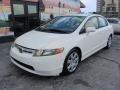 Honda Civic LX Sedan Taffeta White photo #3