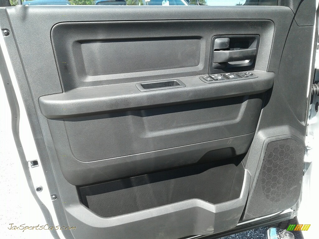 2018 1500 Express Crew Cab - Bright White / Black/Diesel Gray photo #17