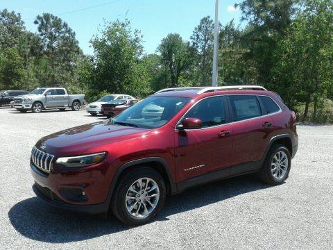 Velvet Red Pearl 2019 Jeep Cherokee Latitude Plus