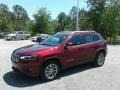 Jeep Cherokee Latitude Plus Velvet Red Pearl photo #1