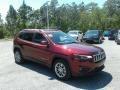 Jeep Cherokee Latitude Plus Velvet Red Pearl photo #7