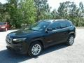 Jeep Cherokee Latitude Diamond Black Crystal Pearl photo #1