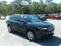 Jeep Cherokee Latitude Diamond Black Crystal Pearl photo #7