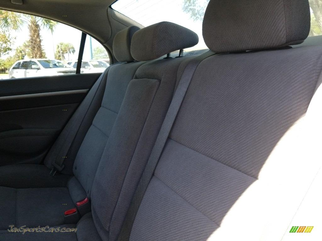 2009 Civic EX Sedan - Polished Metal Metallic / Gray photo #16