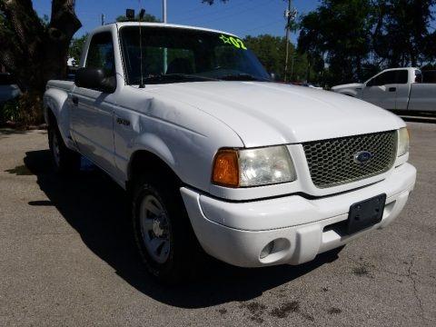 Oxford White 2002 Ford Ranger Edge Regular Cab