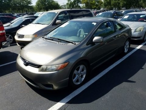 Galaxy Gray Metallic 2006 Honda Civic EX Coupe