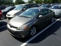 Honda Civic EX Coupe Galaxy Gray Metallic photo #1