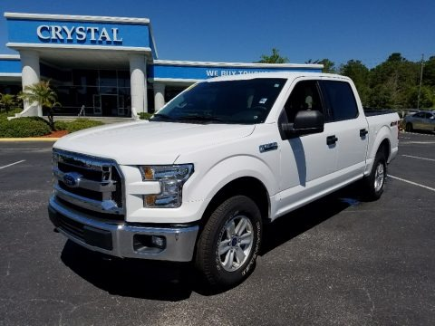 Oxford White 2017 Ford F150 XLT SuperCrew 4x4