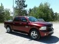 Ram 1500 Express Crew Cab Delmonico Red Pearl photo #7