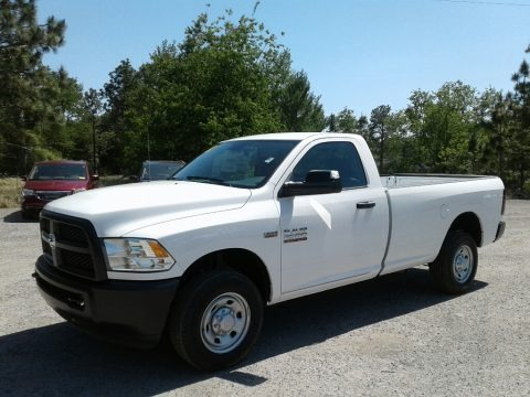 Bright White 2018 Ram 2500 Tradesman Regular Cab