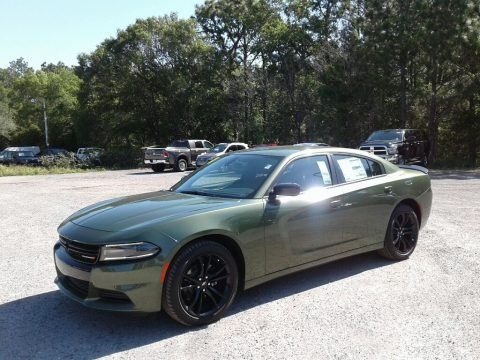 F8 Green 2018 Dodge Charger SXT