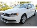 Volkswagen Jetta SE Sedan Pure White photo #5