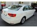 Volkswagen Jetta SE Sedan Pure White photo #9