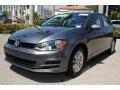 Volkswagen Golf 4 Door 1.8T S Platinum Gray Metallic photo #5