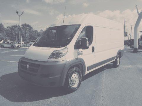 Bright White 2017 Ram ProMaster 2500 High Roof Cargo Van
