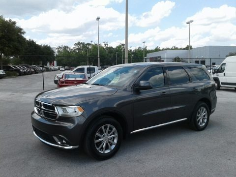 Granite Metallic 2018 Dodge Durango SXT