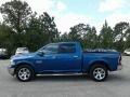 Ram 1500 Laramie Crew Cab 4x4 Blue Streak Pearl photo #2