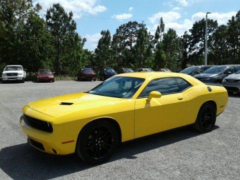 Yellow Jacket 2018 Dodge Challenger SXT