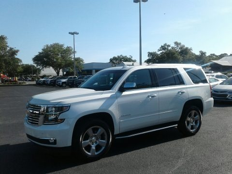 Iridescent Pearl Tricoat 2018 Chevrolet Tahoe Premier