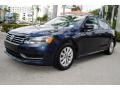 Volkswagen Passat 1.8T Wolfsburg Edition Night Blue Metallic photo #5