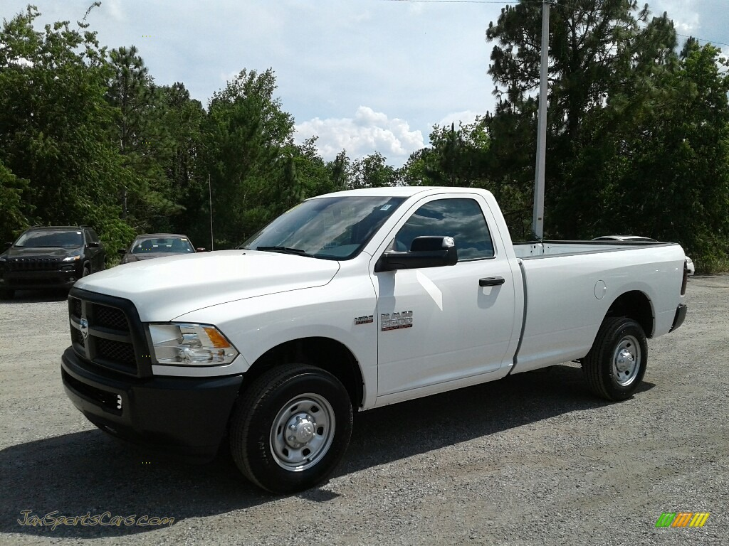Bright White / Black/Diesel Gray Ram 2500 Tradesman Regular Cab 4x4